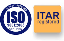 ISO9001:2008 certified - ITAR registered