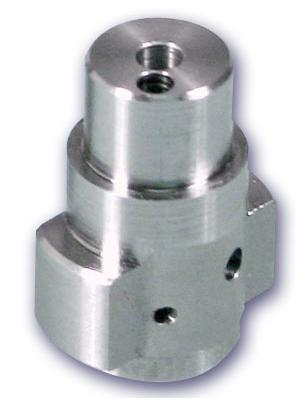 stainless machined component